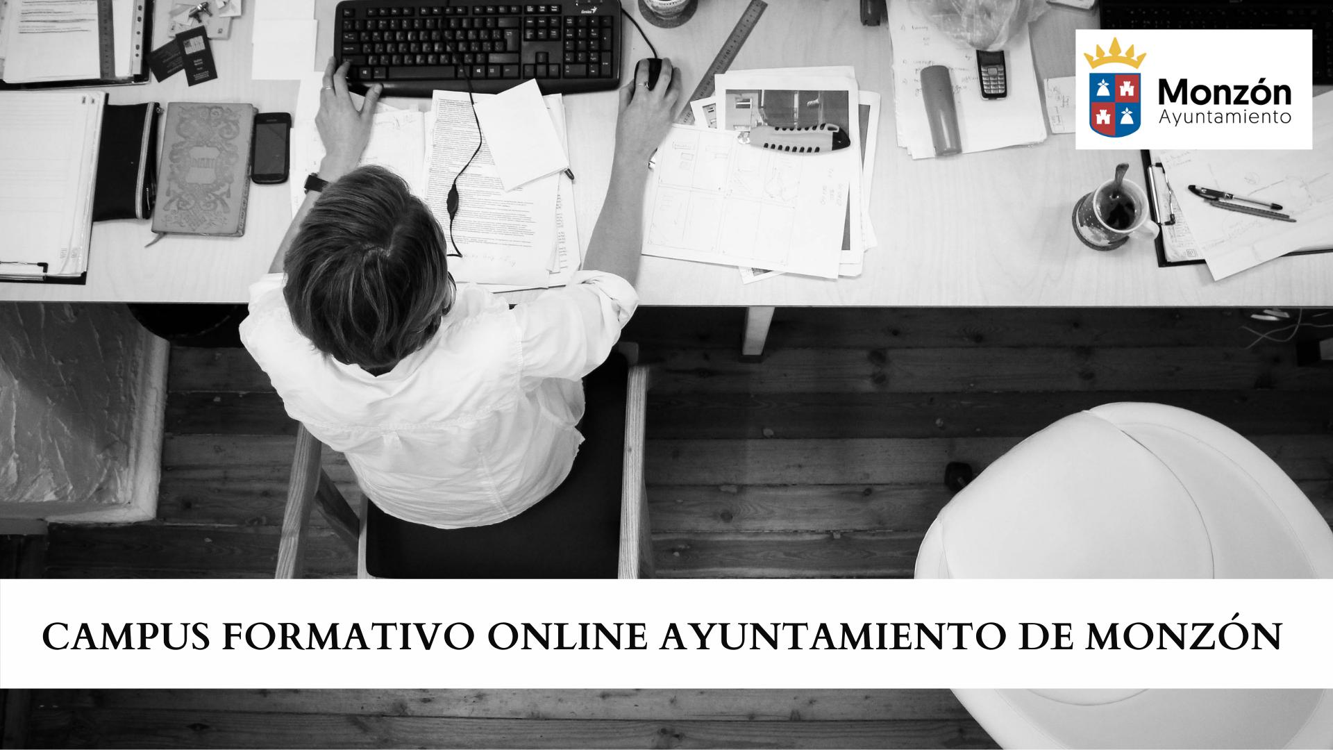 CAMPUS FORMATIVO ONLINE AYUNTAMIENTO DE MONZÓN
